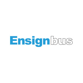 logo for Ensign Bus Company