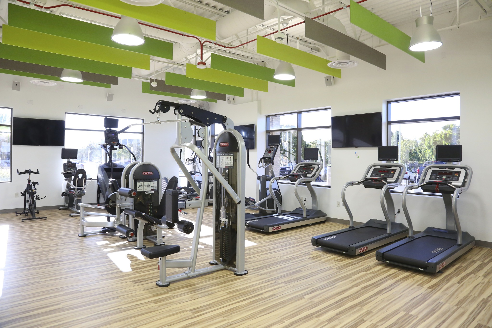Lytx Headquarters gym